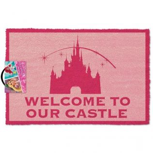 Disney Princess – Welcome To Our Castle Licensed Doormat