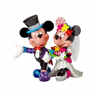 MICKEY & MINNIE WEDDING FIGURINE