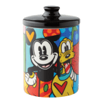 Disney Britto – Mickey & Pluto Canister Small