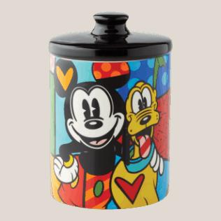 Disney Britto – Mickey & Pluto Canister Small