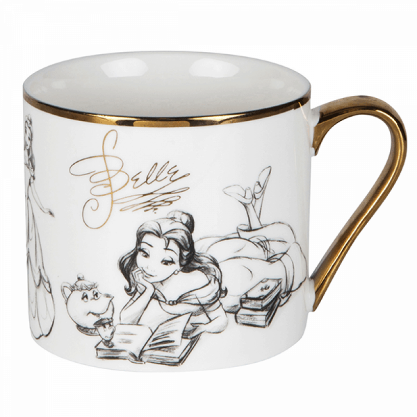 DISNEY COLLECTABLE MUG BELLE 3
