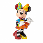 MINNIE MOUSE LARGE 90TH ANNIVERSARY FIGURINE WITH BLING