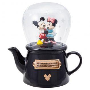 Disney Tea for One – Mickey & Minnie Snowdome Teapot