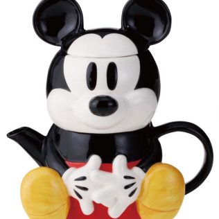 Disney Tea For One Mickey Mouse Teapot and cup