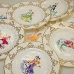 Cinderella 6″ Plate from the Disney Princess Teaware collection