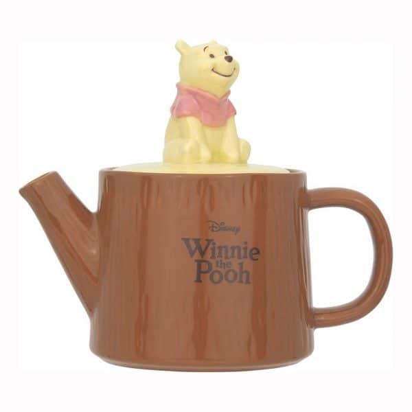 Pooh Wood Teapot