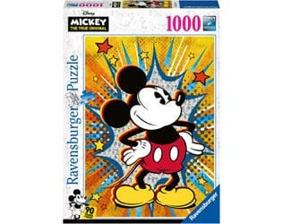Ravensburger Disney Retro Mickey Puzzle 1000pc