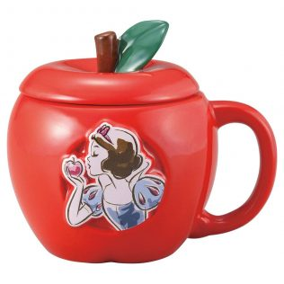 Disney Snow White Poison Apple Mug – with lid