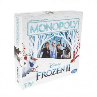 Monopoly Frozen 2 Edition Board Game