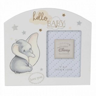 DUMBO ARCH FRAME SMALL 'HELLO BABY'