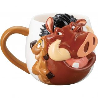 Lion King Timon & Pumba Face Mug