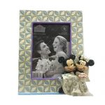 Disney Traditions Mickey and Minnie Wedding by Jim Shore Picture Frame