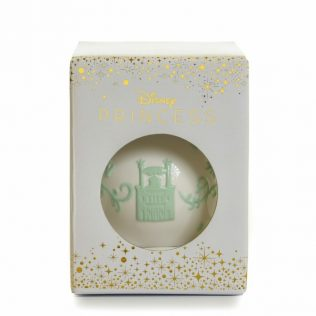 English Ladies The Princess And The Frog – Tiana Ornament – White