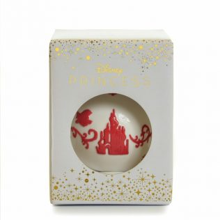 English Ladies The Little Mermaid – Ariel Ornament – White