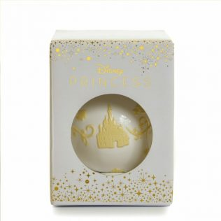 English Ladies Beauty And The Beast – Belle Ornament – White