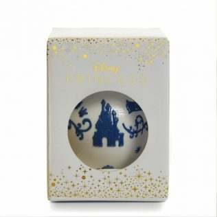 English Ladies Snow White Ornament – White