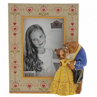 Jim Shore Disney Traditions – Beauty and the Beast Photo Frame