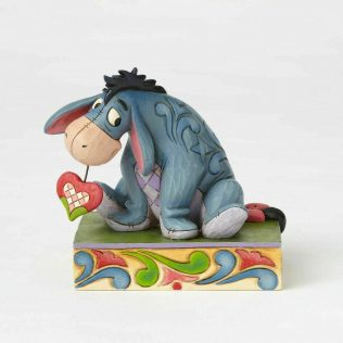 Jim Shore Disney Traditions – Winnie the Pooh Heart on a String Eeyore Statue
