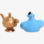 Disney Ceramics Salt and Pepper Shaker Set – Aladdin Genie and Lamp