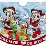 Disney Christmas Satin Tree Skirt – Mickey and Minnie