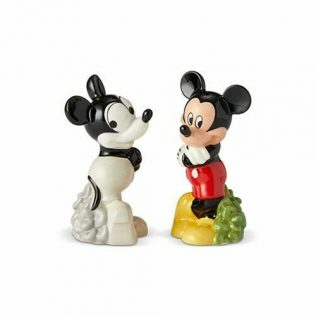 Disney Salt and Pepper Shaker Set – Mickey Mouse Then and Now