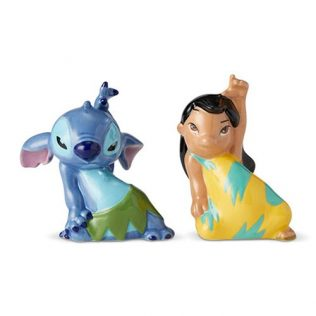 Details about  Disney Salt and Pepper Shaker Set – Lilo and Stitch