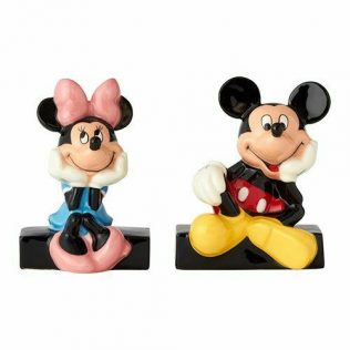 Disney Salt and Pepper Shaker Set – Mickey Mouse and Minnie Mouse