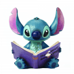 Jim Shore Disney Traditions – Stitch with Story Book Finding a Family Figurine