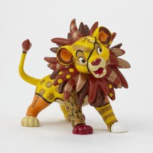 Disney Britto Simba Mini Figurine – Lion King