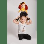 The Wiggles Emma Cuddle Doll Soft Toy Plush 50 cm