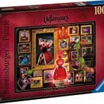 Ravensburger – Disney Villainous: Queen of Hearts Puzzle 1000pc