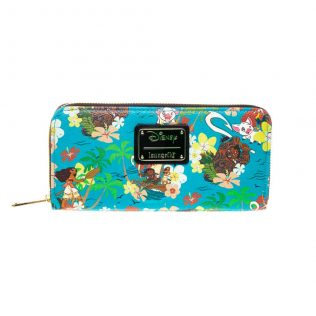 Loungefly Disney Moana – Floral Zip-around Wallet