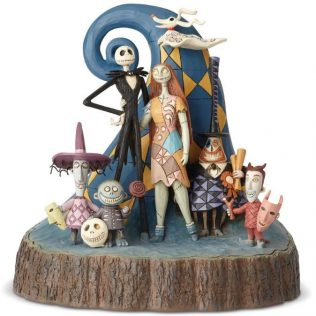 Disney Traditions Nightmare Before Christmas Carved by Heart Statue
