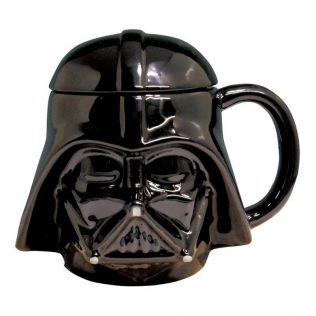 Star Wars 3D Mug With Lid – Darth Vader