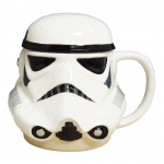 STAR WARS 3D MUG WITH LID – STORMTROOPER