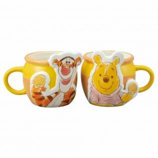 Disney Winnie the Pooh & Tigger Pair Mugs