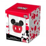 Mickey Mouse – Sculpted Ceramic Cookie Jar