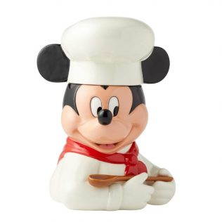 DISNEY CERAMICS COOKIE JAR – CHEF MICKEY MOUSE