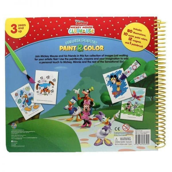 Paint & Colour Disney Junior Mickey Mouse Book