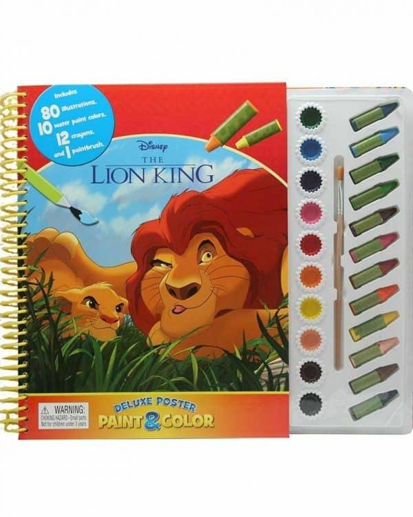 Disney Paint & Colour The Lion King Book
