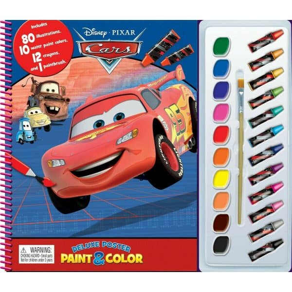Disney Cars Deluxe Poster Paint & Colour
