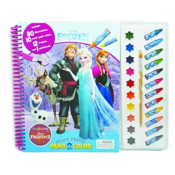 Disney Frozen Deluxe Poster Paint & Colour Book