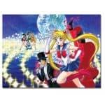 Sailor Moon Group 1000 Piece Puzzle