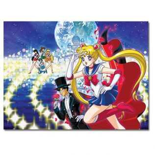 Sailor Moon Group 1000 Piece Puzzle