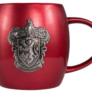 Harry Potter – Gryffindor Metallic Crest Mug