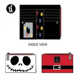Loungefly Disney – The Nightmare Before Christmas – Jack Cosplay Bi-Fold Wallet