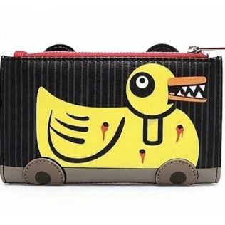 Loungefly The Nightmare Before Christmas Scary Teddy and Undead Duck Bi-Fold Wallet