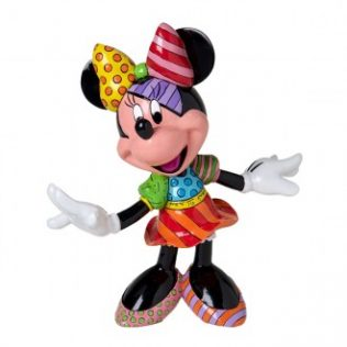 Disney Britto Minnie Mouse Figurine – Large
