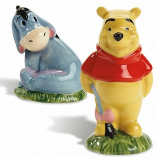 Disney Salt and Pepper Shaker Set – Winnie the Pooh and Eeyore