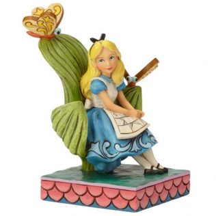 Jim Shore Disney Traditions – Alice In Wonderland – Curiouser and Curiouser